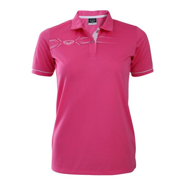 เสื้อโปโลหญิงแกรนด์สปอร์ต (สีบานเย็น)รหัสสินค้า : 012774