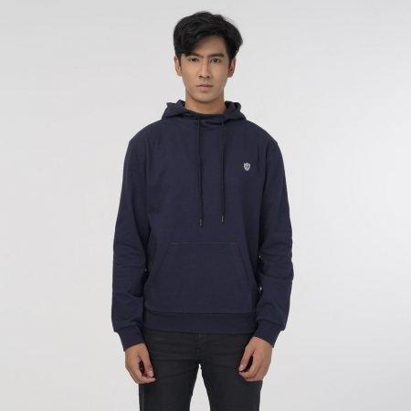 แกรนด์สปอร์ตเสื้อแจ็คเก็ตมีฮู้ดส์ สีกรม รหัส:023169
