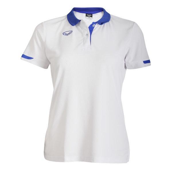 เสื้อโปโลหญิงแกรนด์สปอร์ต รหัส:012753 (สีขาว)