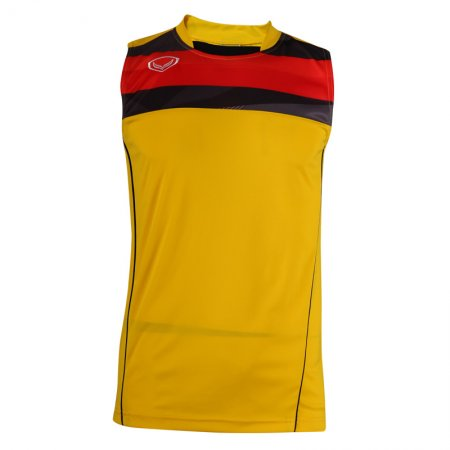 เสื้อฟุตบอลแกรนด์สปอร์ต (สีเหลือง) รหัส:011529