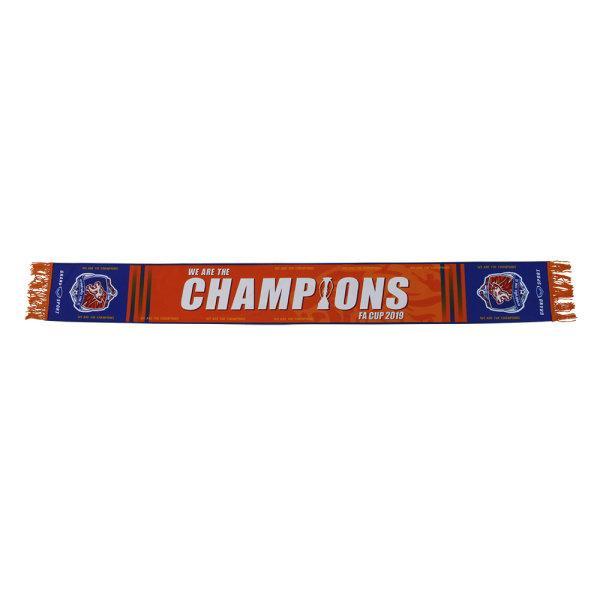 แกรนด์สปอร์ต ผ้าพันคอทีมท่าเรือCHAMPIONS FA CUP 2019 รหัส : 021500