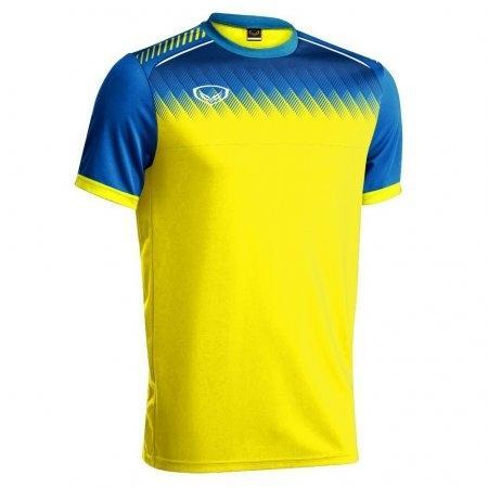 เสื้อกีฬาฟุตบอล แกรนด์สปอร์ต(สีเหลือง) รหัส :011456