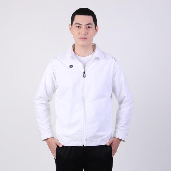 เสื้อแจ็คเก็ต(ชาย) แกรนด์สปอร์ต รหัสสินค้า : 020661 (สีขาว)