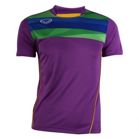 เสื้อฟุตบอลแกรนด์สปอร์ต (สีม่วง) รหัส:011527