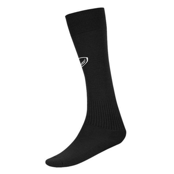 แกรนด์สปอร์ต ถุงเท้ากีฬาฟุตบอลทอลาย(สีดำ) รหัส: 025006