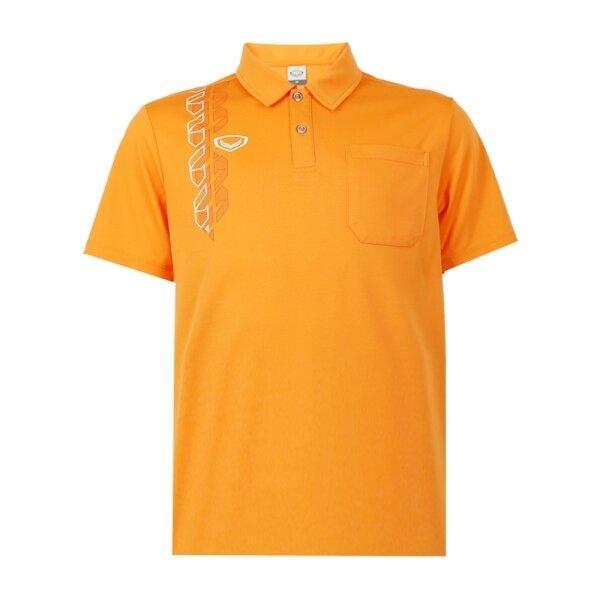 เสื้อโปโลชาย แกรนด์สปอร์ต รหัส : 012583 (สีส้ม)