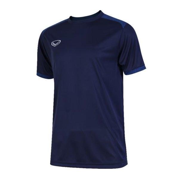 เสื้อกีฬาฟุตบอลตัดต่อรหัส: 011472 (สีกรม)