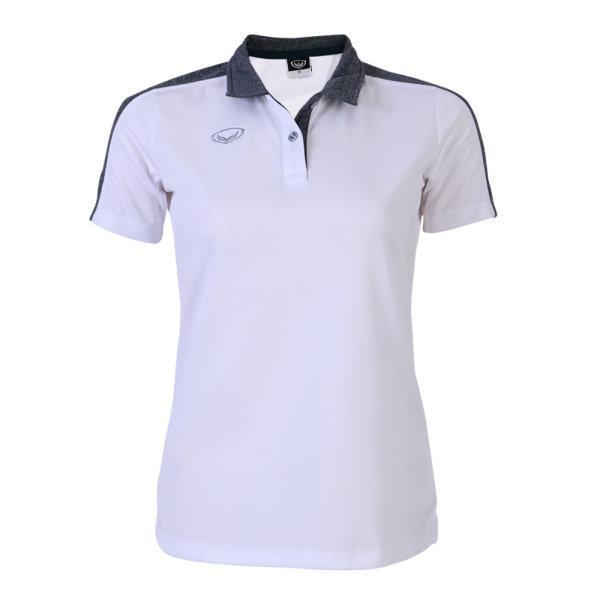 เสื้อโปโลหญิงแกรนด์สปอร์ต (สีขาว)รหัสสินค้า : 012773