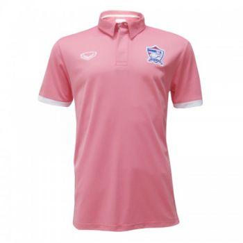 แกรนด์สปอร์ตเสื้อโปโลฟุตบอลทีมชาติ (สีชมพู)