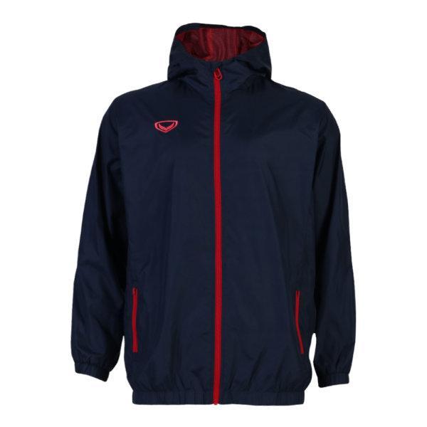 แกรนด์สปอร์ตเสื้อแจ็คเก็ตกันฝน/กันลม(สีกรม) รหัสสินค้า : 020658