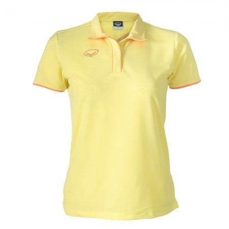 เสื้อโปโลหญิงแกรนด์สปอร์ต (สีเหลือง)รหัสสินค้า : 012762