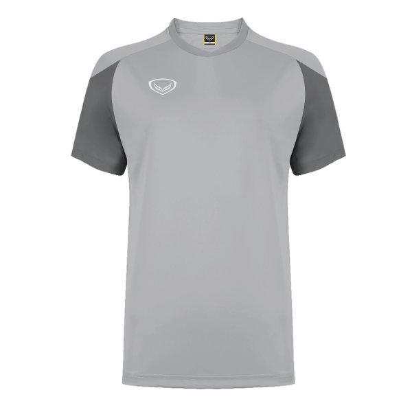 แกรนด์สปอร์ต เสื้อกีฬาฟุตบอล ตัดต่อ รหัส: 011481 (สีเทา)
