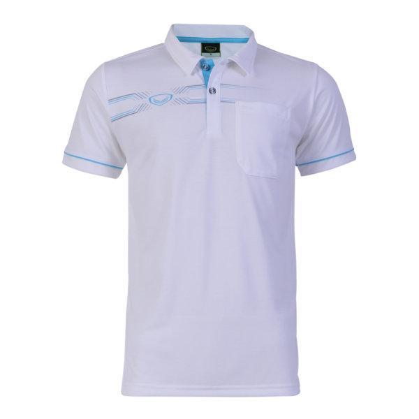 เสื้อโปโลชายแกรนด์สปอร์ต รหัส : 012574 (สีขาว)