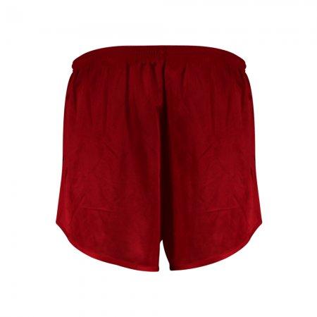 กางเกงวิ่งตัดต่อผ้าพิมพ์(สีแดง) รหัส :007123