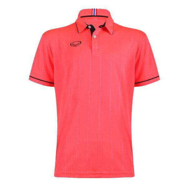 เสื้อคอปกแกรนด์สปอร์ต รหัส : 023183 (สีแดง)