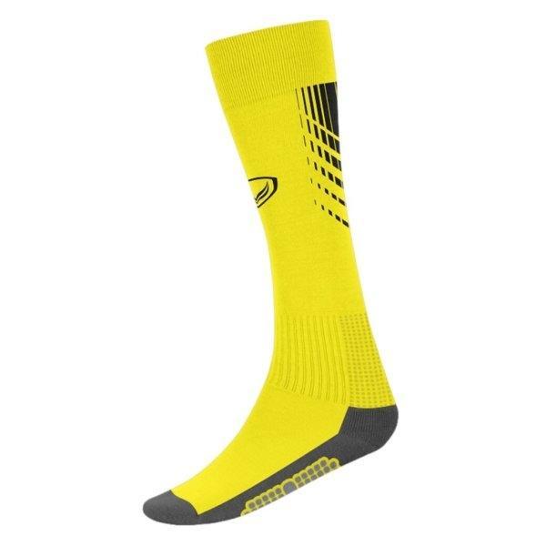 แกรนด์สปอร์ต ถุงเท้ากีฬาฟุตบอลทอลาย (สีเหลือง) รหัส:025130