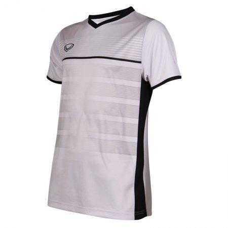 เสื้อกีฬาฟุตบอลพิมพ์ลาย  รหัส: 038275 (สีขาว)