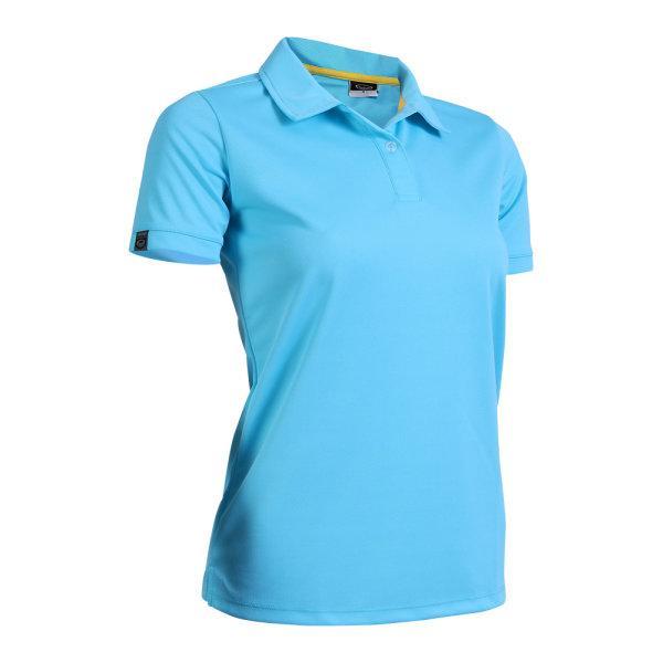 เสื้อโปโลหญิงแกรนด์สปอร์ต รหัสสินค้า : 012772 (สีฟ้า)