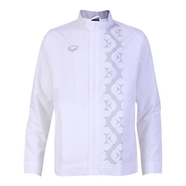 เสื้อแจ็คเก็ตชาย แกรนด์สปอร์ต รหัส : 020651 (สีขาว)