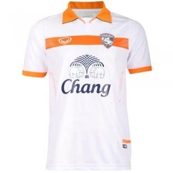เสื้อกีฬาฟุตบอล สโมสรสุพรรณ2014(สีขาว) รหัส:038836