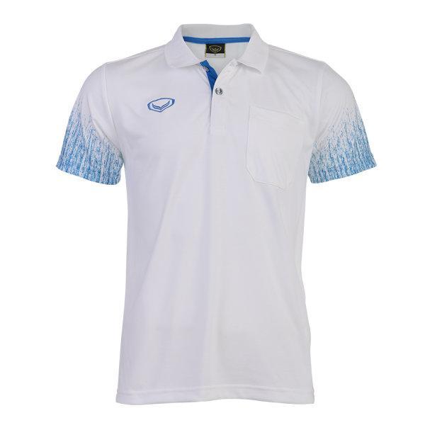 เสื้อโปโลชายแกรนด์สปอร์ต(สีขาว) รหัส : 012563
