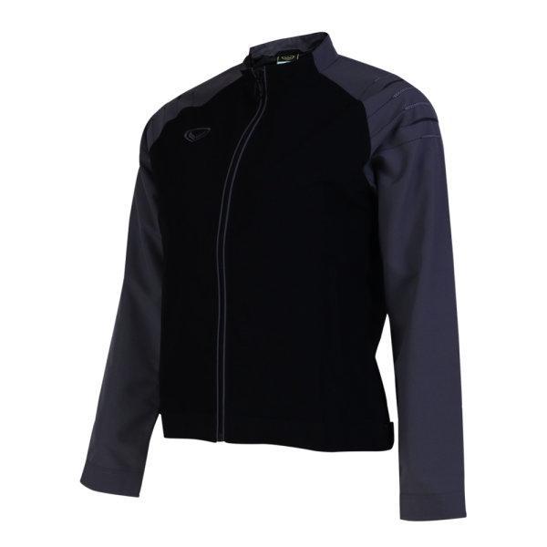 เสื้อแจ็คเก็ตหญิง แกรนด์สปอร์ต รหัส : 020650 (สีดำเทา)