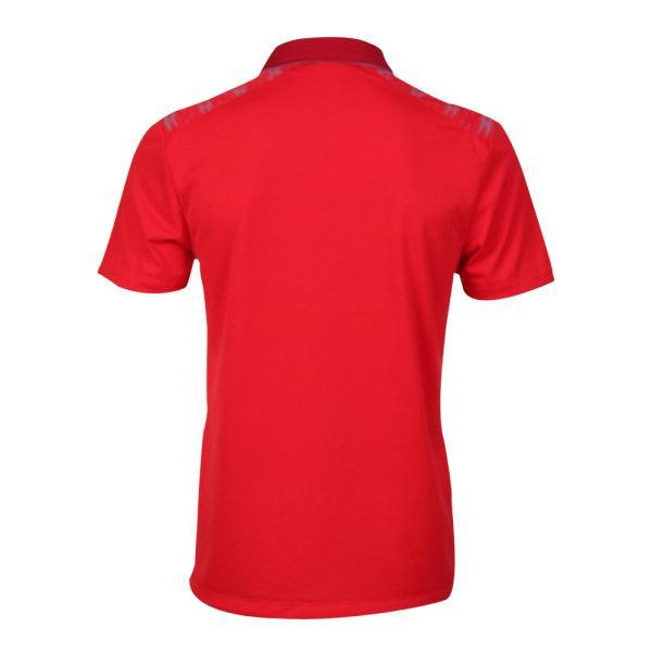 เสื้อโปโลชายแกรนด์สปอร์ต รหัส :012576 (สีแดง)