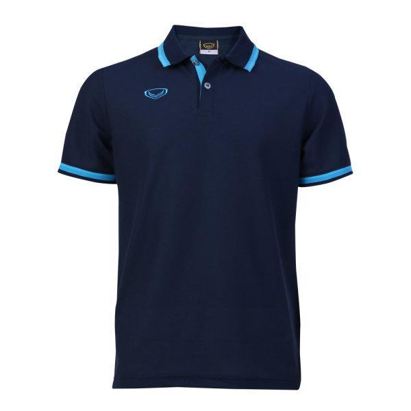 เสื้อโปโลชายแกรนด์สปอร์ต รหัสสินค้า : 012580 (สีกรม)