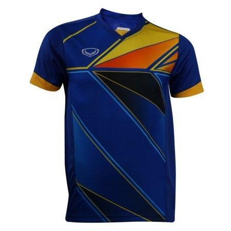 เสื้อกีฬาพิมพ์ลายชาย แกรนด์สปอร์ต (สีน้ำเงิน) รหัส : 014220