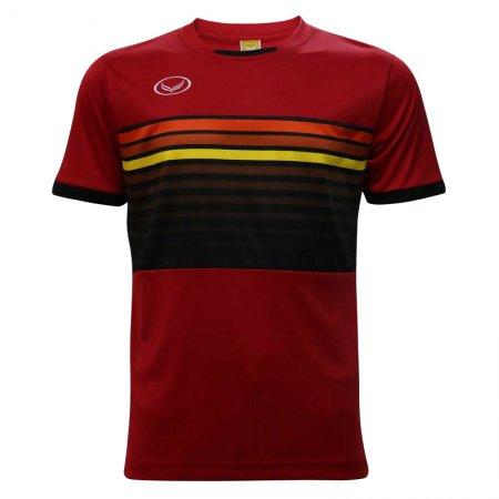 เสื้อกีฬาฟุตบอลแกรนด์สปอร์ต (สีแดง) รหัส:011E01