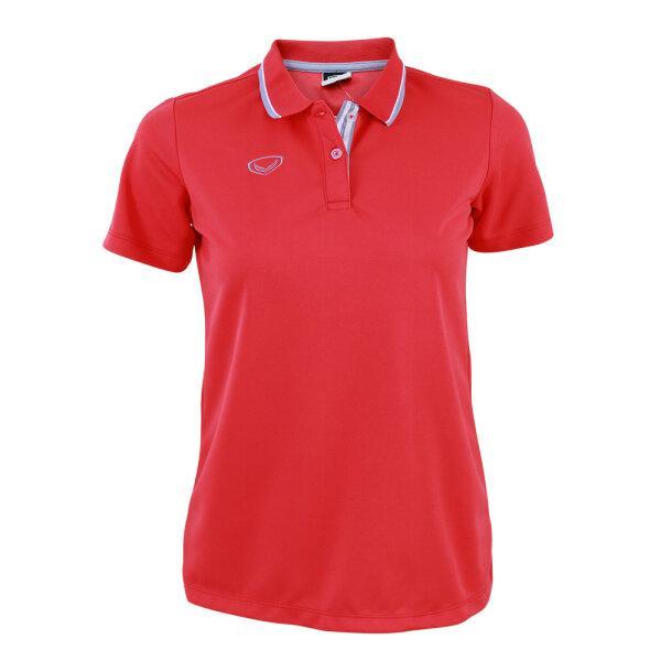 เสื้อโปโลหญิงแกรนด์สปอร์ต รหัส :012769 (สีแดง)