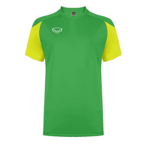 แกรนด์สปอร์ต เสื้อกีฬาฟุตบอล ตัดต่อ รหัส: 011481 (สีเขียว)