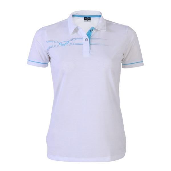 เสื้อโปโลหญิงแกรนด์สปอร์ต (สีขาว)รหัสสินค้า : 012774