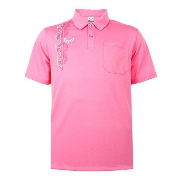 เสื้อโปโลชาย แกรนด์สปอร์ต รหัส : 012583 (สีชมพู)