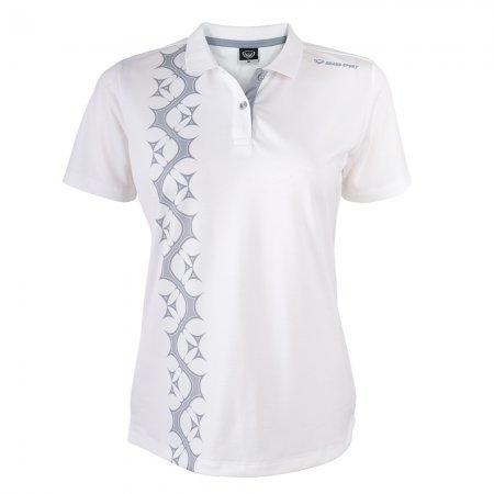 เสื้อโปโลหญิงแกรนด์สปอร์ต (สีขาว)รหัสสินค้า : 012766
