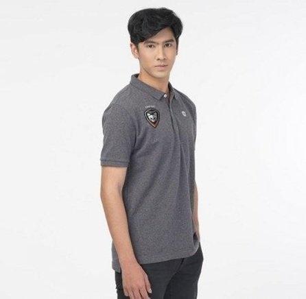 เสื้อโปโลคอปกทีมSWATCAT 2020 รหัสสินค้า : 022021 (สีเทา)