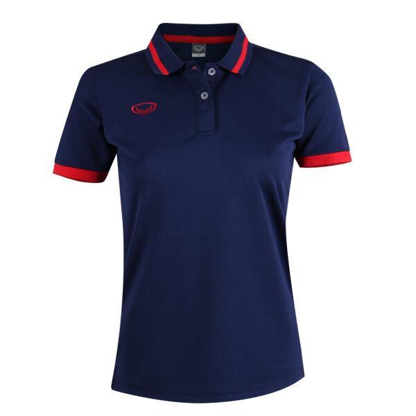 เสื้อโปโลหญิงแกรนด์สปอร์ต รหัสสินค้า : 012785 (สีกรม)