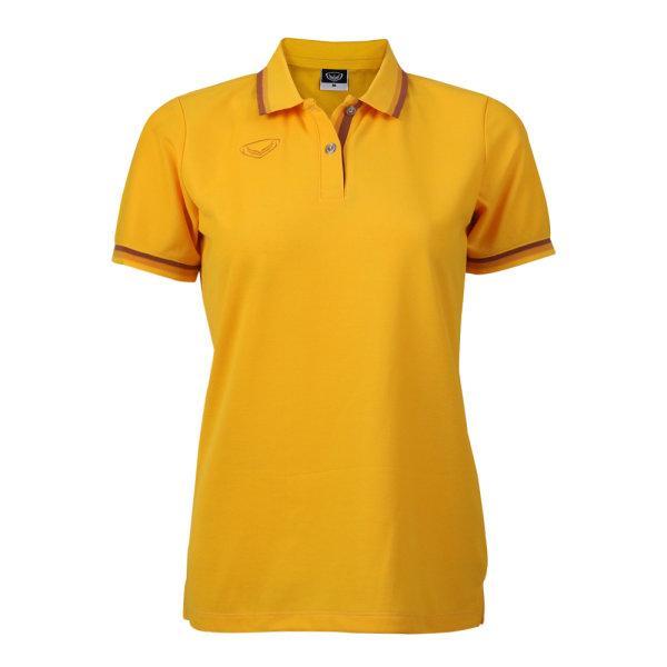 เสื้อโปโลหญิงแกรนด์สปอร์ต รหัสสินค้า : 012780 (สีเหลือง)