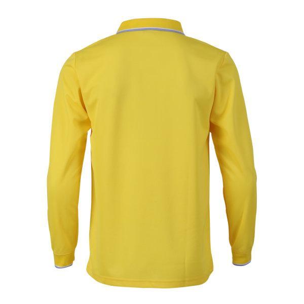 เสื้อโปโลชายแขนยาวแกรนด์สปอร์ต(สีเหลือง) รหัส:012579