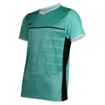 เสื้อกีฬาฟุตบอลพิมพ์ลาย รหัส: 038275 (สีเขียวอ่อน)