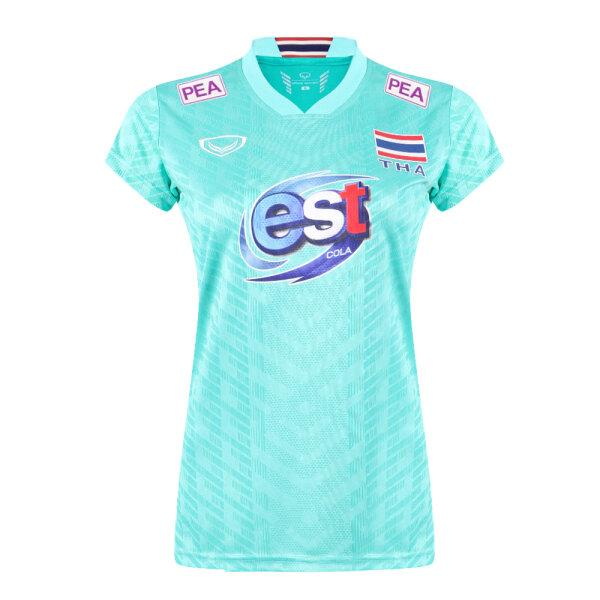 เสื้อวอลเลย์บอลทีมชาติหญิง(สีเขียวมิ้น)รหัส:014300