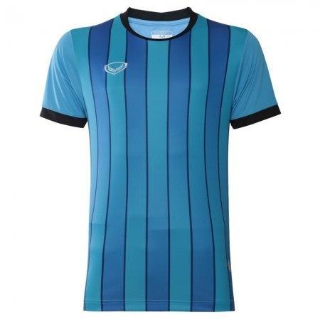 เสื้อฟุตบอล พิมพ์ลาย ปี 2018(สีฟ้า) รหัส 011445
