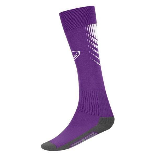 แกรนด์สปอร์ต ถุงเท้ากีฬาฟุตบอลทอลาย (สีม่วง) รหัส:025130