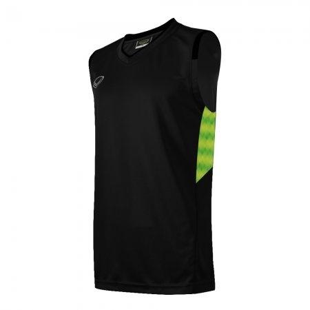 เสื้อบาสเกตบอลแกรนด์สปอร์ตชาย(สีดำ)รหัส:013156