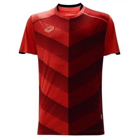 เสื้อฟุตบอล พิมพ์ลาย ปี 2018(สีแดง)รหัส:011447