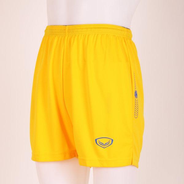 กางเกงตะกร้อแกรนด์สปอร์ต รหัส : 037706 (สีเหลือง)