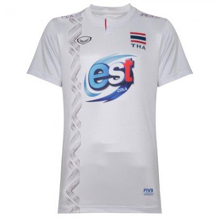 เสื้อกีฬาวอลเลย์บอลทีมชาติ 2018 แฟนคลับ (สีขาว) รหัส : 014246