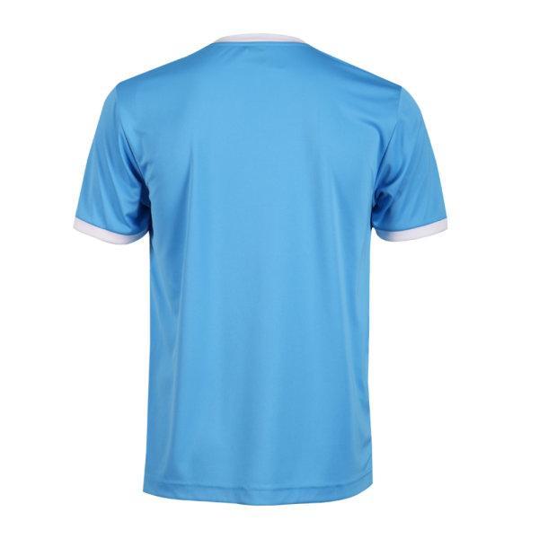 เสื้อกีฬาฟุตบอลพิมพ์ลาย  รหัส :011549 (สีฟ้า)