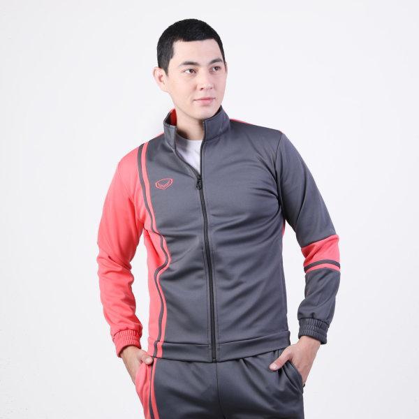 เสื้อวอร์มแกรนด์สปอร์ต รหัส :016369 (สีเทาโอรส)