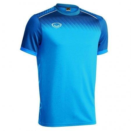 เสื้อกีฬาฟุตบอล แกรนด์สปอร์ต(สีฟ้า) รหัส :011456